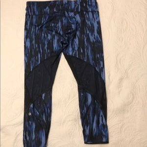 lululemon athletica Pants - Lululemon All Meshed Up 7/8 Tight, Sz. 12